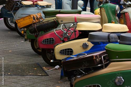 Various vintage scooters © JFsPic