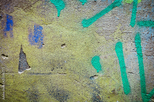Artistic Graffiti abstract background for your text or image - 255343773