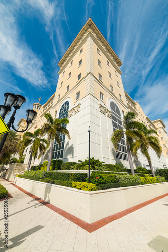 Elegant church in downtown Clearwater - 255350167