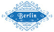 Vector Welcome to Berlin