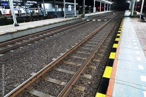 indonesia train railway