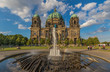 Berlin, Germany - completed in 1905 and built in a Historicist architecture style, the the Berlin Cathedral it's one of the main landmarks in the german capital
