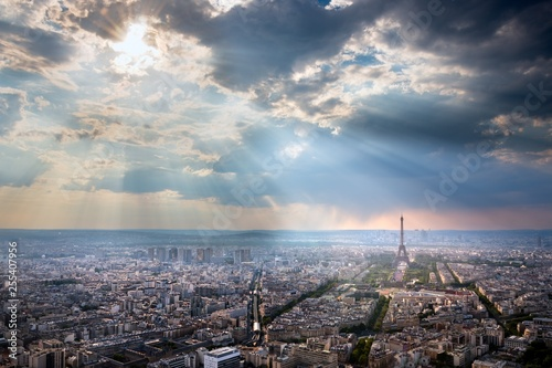Eiffel Tower, Paris, France - 255407956