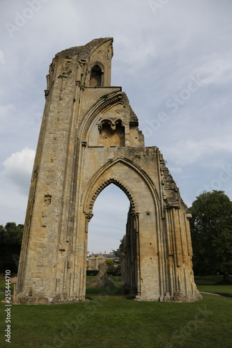 The ruins of the Monastery Abbey, Glastonbury, Somerset