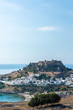 View of the acropolis of Lindos