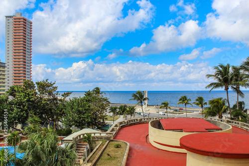 obraz PCV Beautiful view of the sea in Havana, Cuba