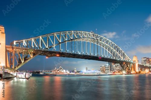 obraz lub plakat Harbour Bridge