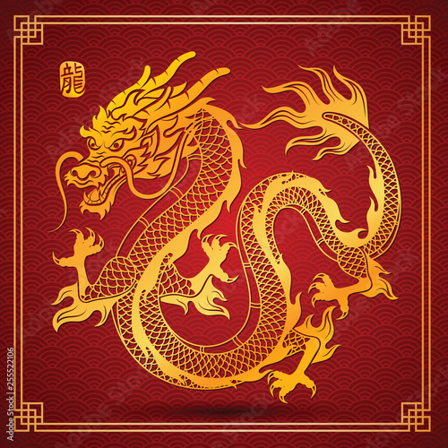 chinese Dragon vector © 9comeback