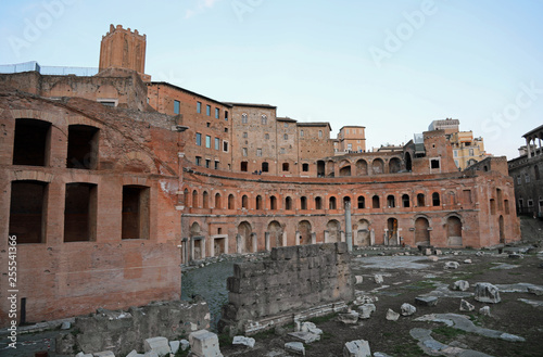 obraz PCV Ancient Buildings of Trajan s Market in Rome