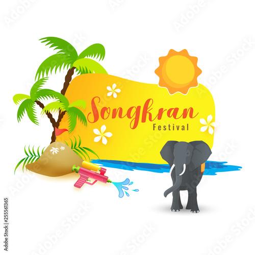Water Festival of Songkran...