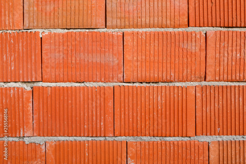 Texture of brick wall for background - 255568146