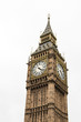 Big Ben great bell clock at the Palace of Westminster in London England
