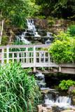waterfall in Regent's park London England