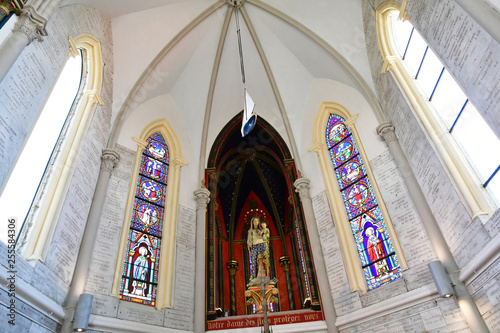 Sainte Adresse; France - may 10 2017 : Notre Dame des Flots chapel