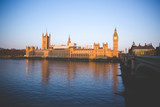 Fototapeta Fototapeta Londyn - big ben and houses of parliament in london © Dimitar