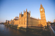 big ben and houses of parliament in london - 255587182