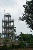 Fototapeta Bambus - high bamboo tower © Black Jericho