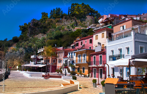 Greece - Parga - a tourist paradise in Greece  © zzika