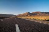 Wüstenlandschaft in Marokko nach Sonnenaufgang