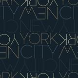 New York City, USA seamless pattern