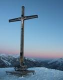 Blaue Stunde am Roßkopf, 1.580 Meter