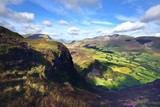 The Cumbrian Mountains from Bull Crag