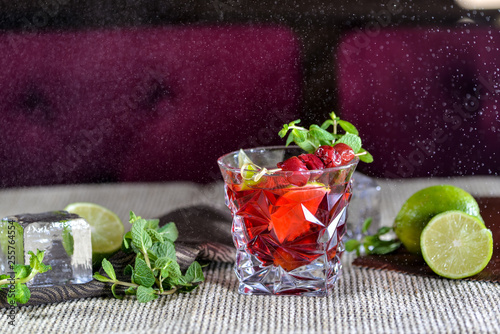 fresh salad with cucumber and radish © polakravis