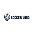 Soccer logo, sports logo, sports badge