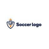 Szablon logo drużyny piłkarskiej