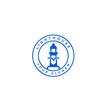 Lighthouse logo template design