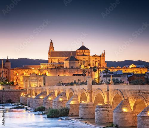 Roman Bridge and Guadalquivir river, Great Mosque, Cordoba, Spain © Horváth Botond