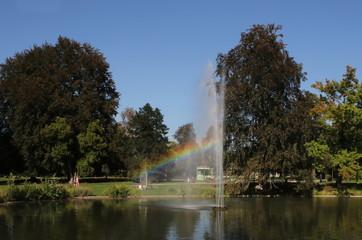 Schlosspark am Rhein