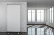 Leinwandbild Motiv Contemporary interior with empty banner