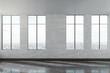 Leinwanddruck Bild - Modern concrete office interior