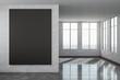 Leinwandbild Motiv Contemporary interior with empty poster