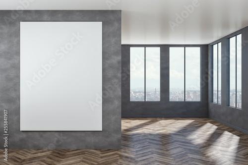 Leinwanddruck Bild Modern interior with empty poster