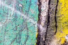"""Постер, картина, фотообои """"Graffiti painted on a concrete wall texture."""""""