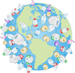 World Pollution illustration