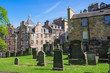 Leinwanddruck Bild - Der Friedhof Greyfriars Kirk in Edinburgh