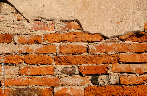 crack concrete brick wall texture © srckomkrit