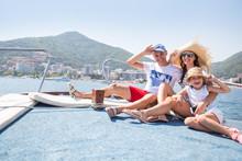 "Постер, картина, фотообои ""vacation on a yacht"""