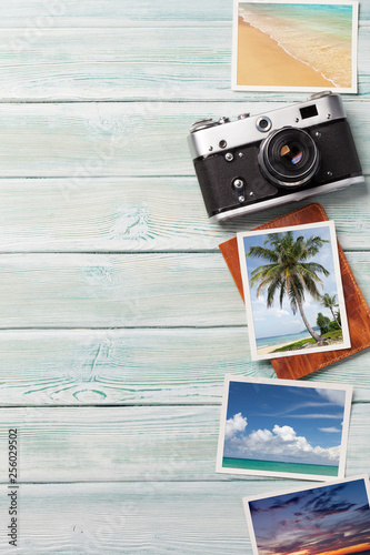Travel vacation background concept