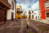 Tourism and travel. Gran Canaria. city of las palmas. Spanish city. The streets of the old town