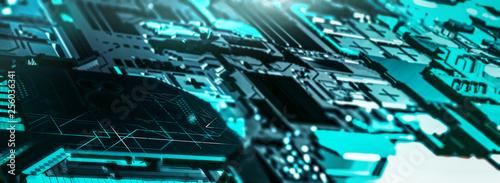 High Tech Hintergrund - 256036341