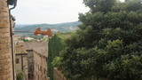 Houses of Italian village, Tuscany, Italy