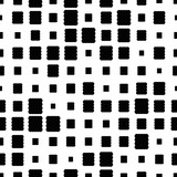 Halftone seamless abstract background with squares. Infinity geometric pattern. Vector illustration.     - 256066952