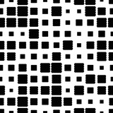 Halftone seamless abstract background with squares. Infinity geometric pattern. Vector illustration.     - 256066979