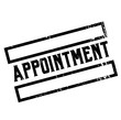 appointment advertising sticker