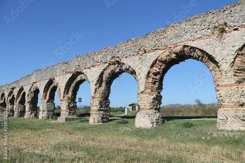 Aqueducs romains de Chaponost (Rhône, France)