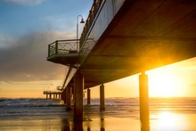 "Постер, картина, фотообои ""View from under the pier"""